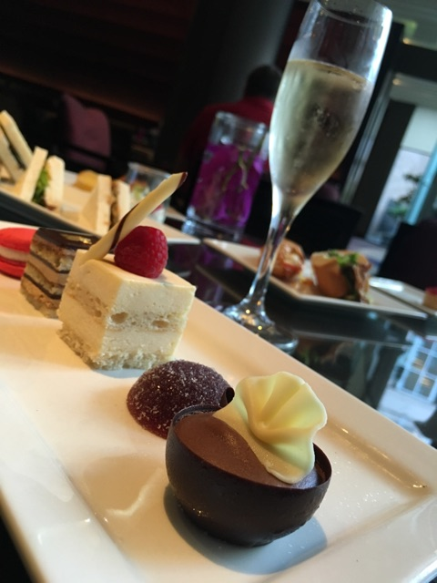 The gluten free afternoon tea, Chic Gourmandise, at Sofitel Wentworth
