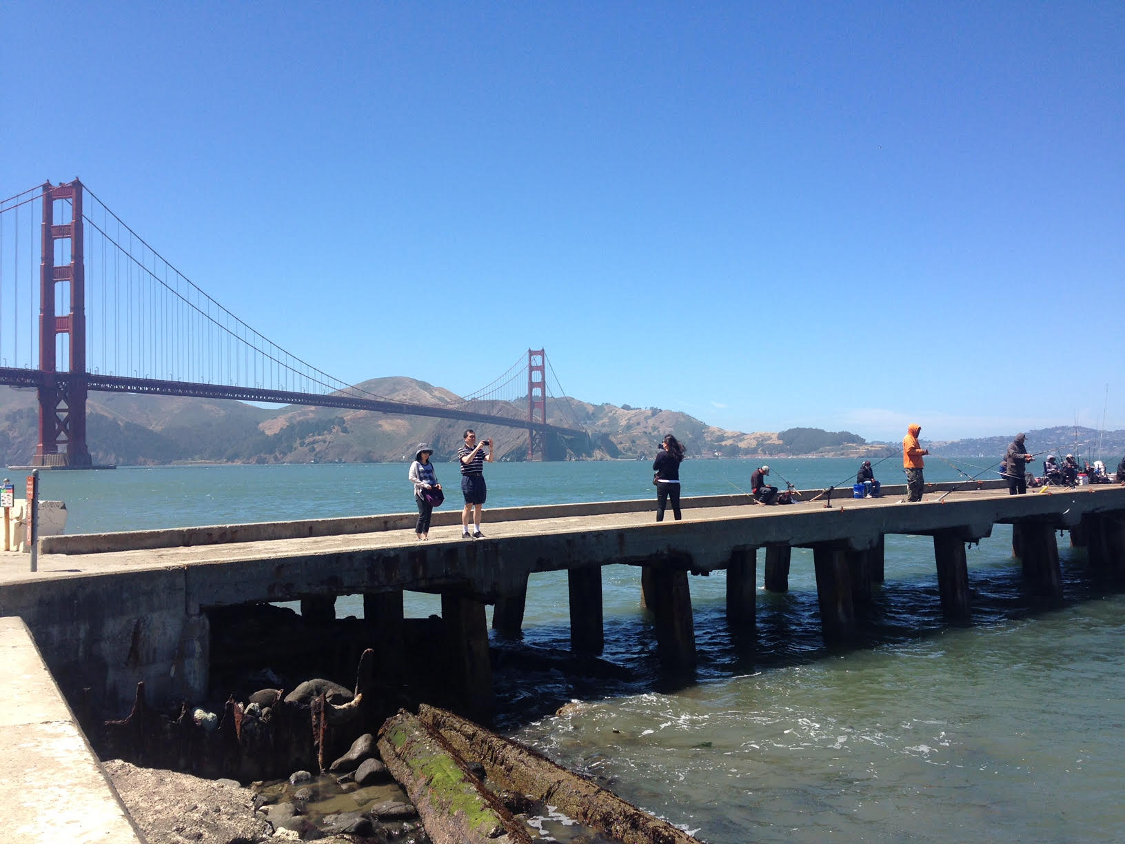 Ride over the Golden Gate and stop for some snaps