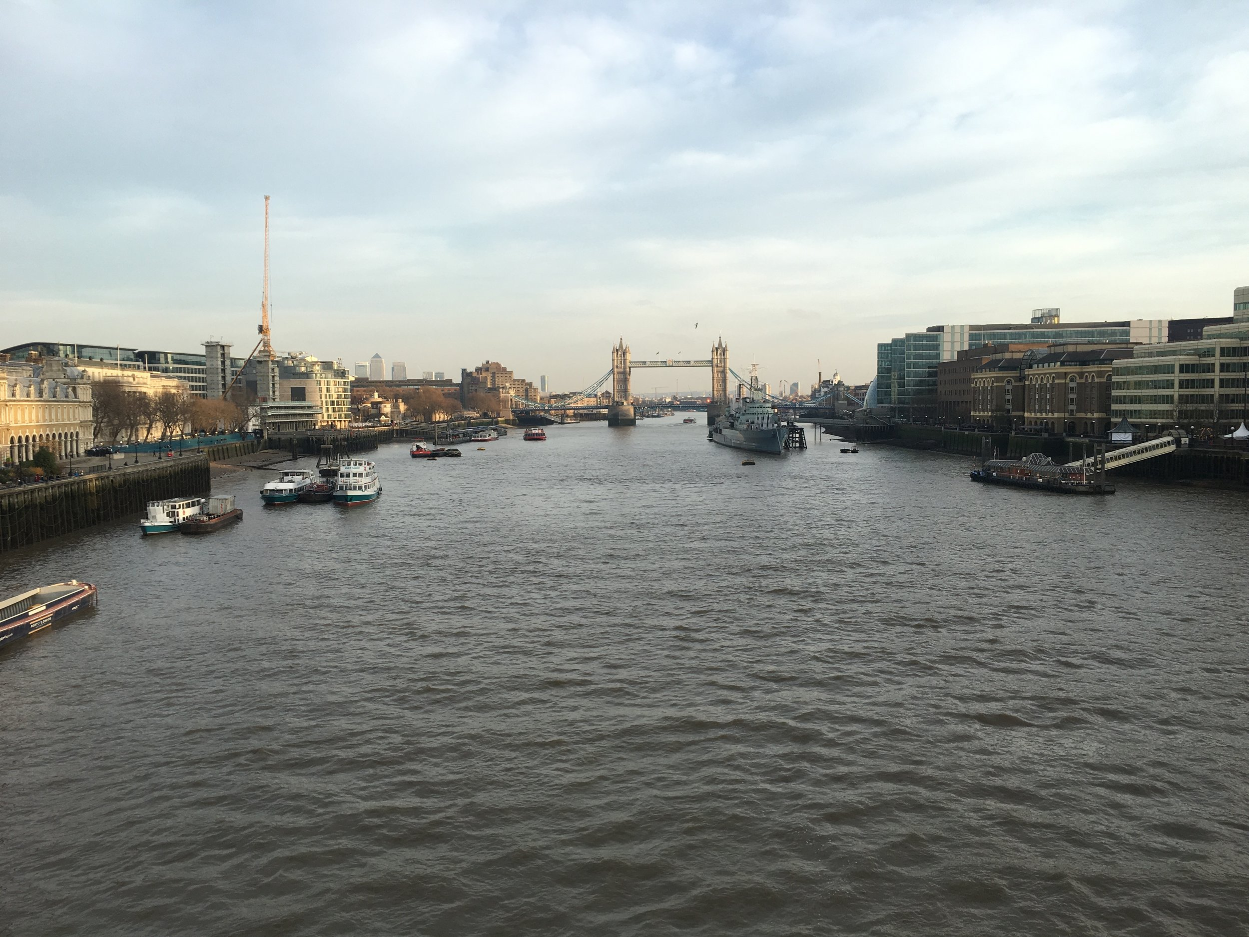 LONDON - FROM LONDON BRIDGE 2016