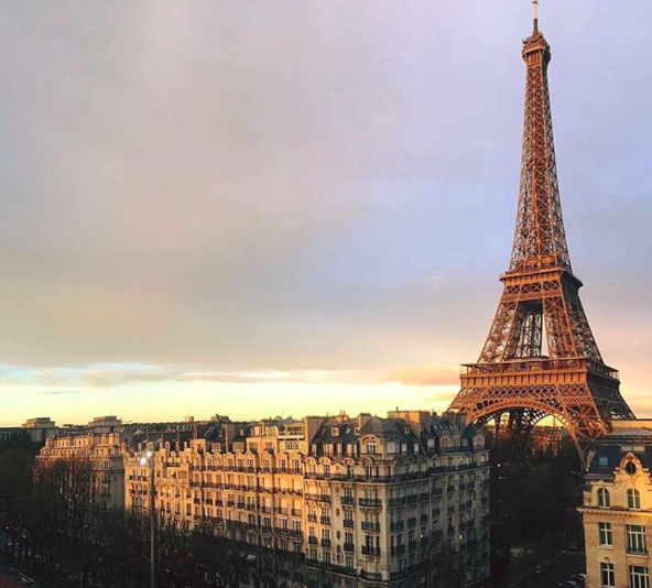 PARIS - FROM THE PULLMAN HOTEL 2015