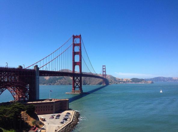 SAN FRAN - THE GOLDEN GATE BRIDGE 2016