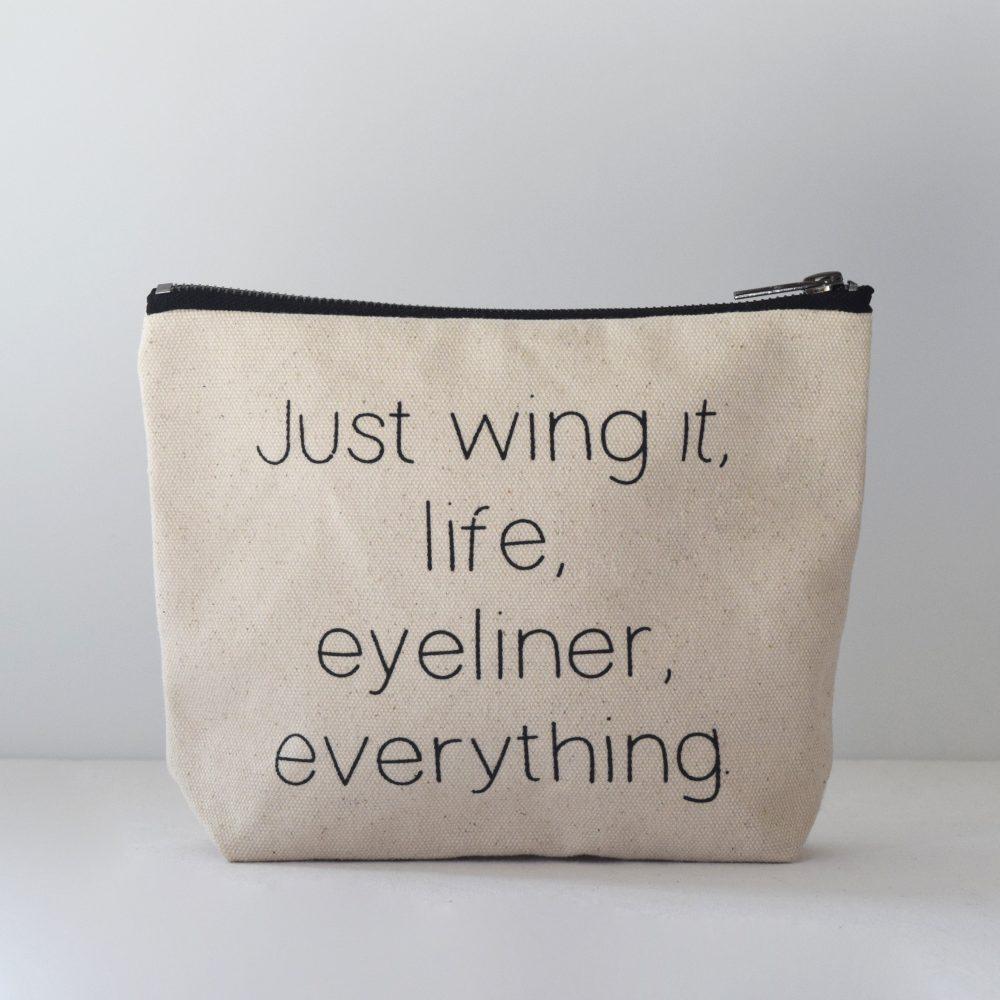 Zetta Florence Wing It Zipper Pouch - $14.95