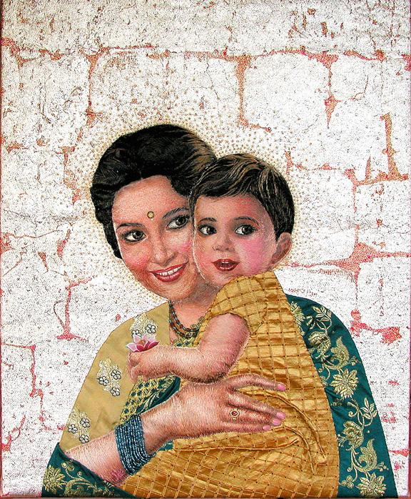 Madonna of the Sari