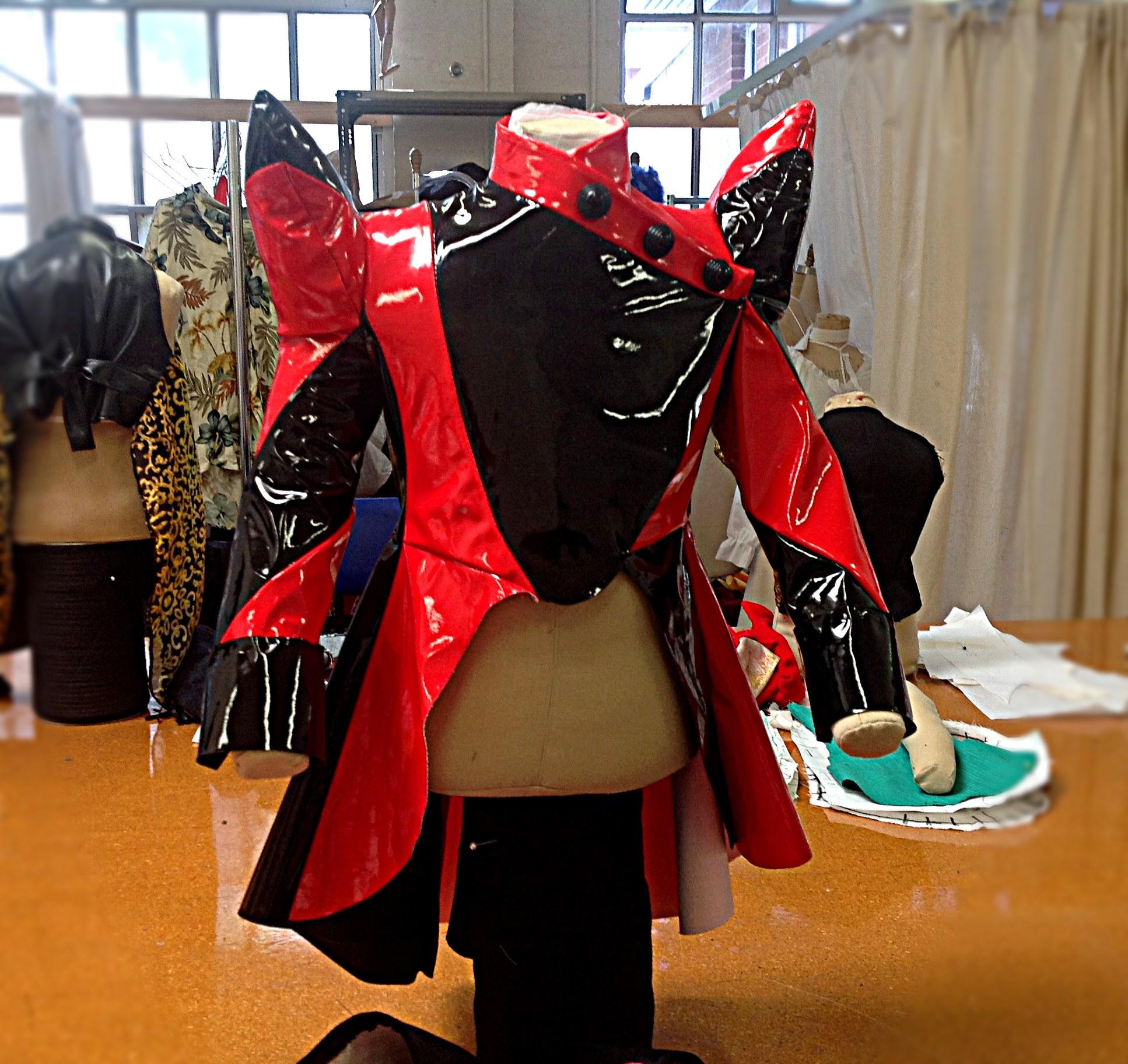 Lucy's vinyl tailcoat