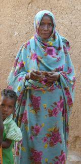 Chadian woman, Caroline Tyler