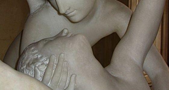 Antonio Canova, Psyche revived by cupid's kiss