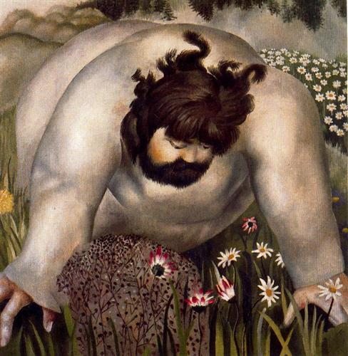 Christ in the wilderness, Consider the lilies. Stanley Spencer