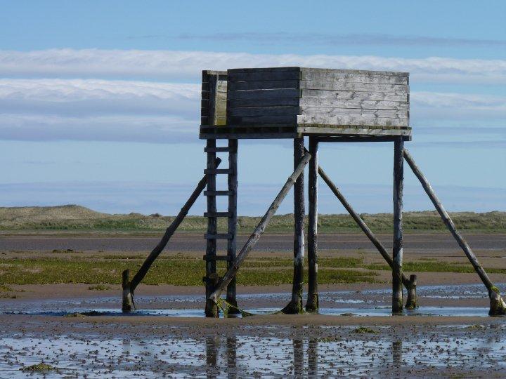 Lindisfarne causeway, Mags Bryan