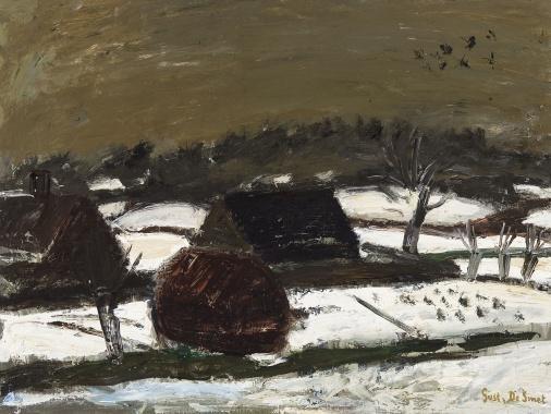 Dark snow, 1939. Gustave de Smet