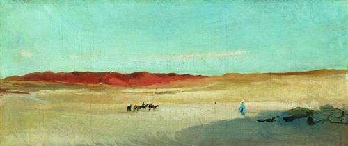 Desert, Konstantin Makovsky