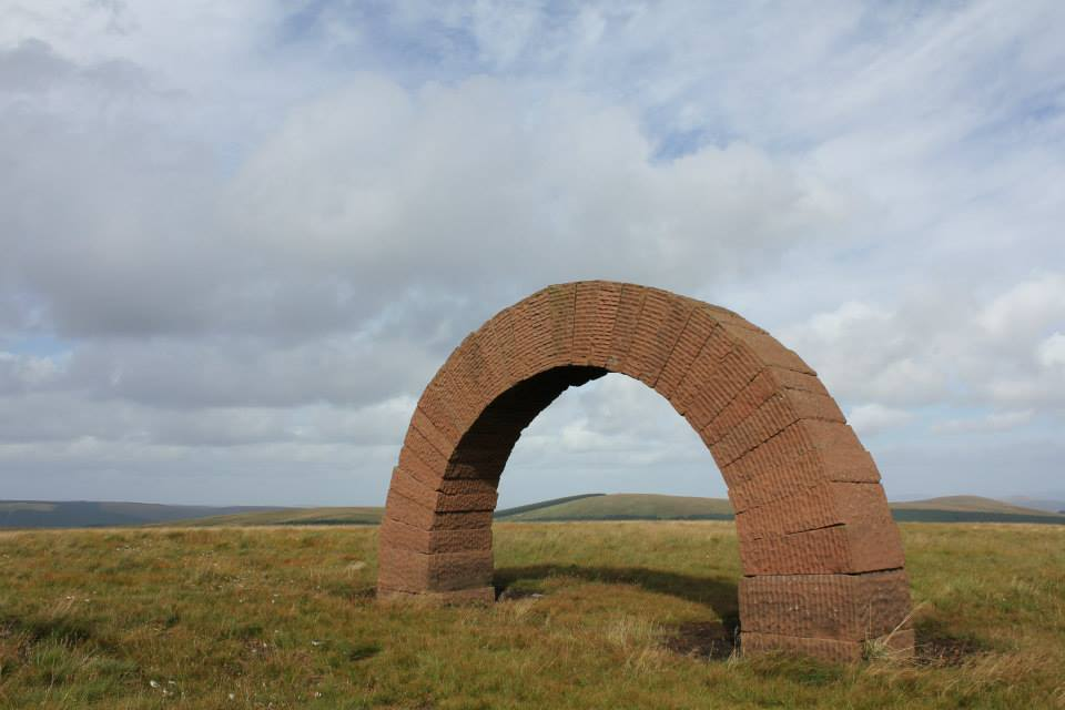 Striding arch, Galloway. Gus McLeod
