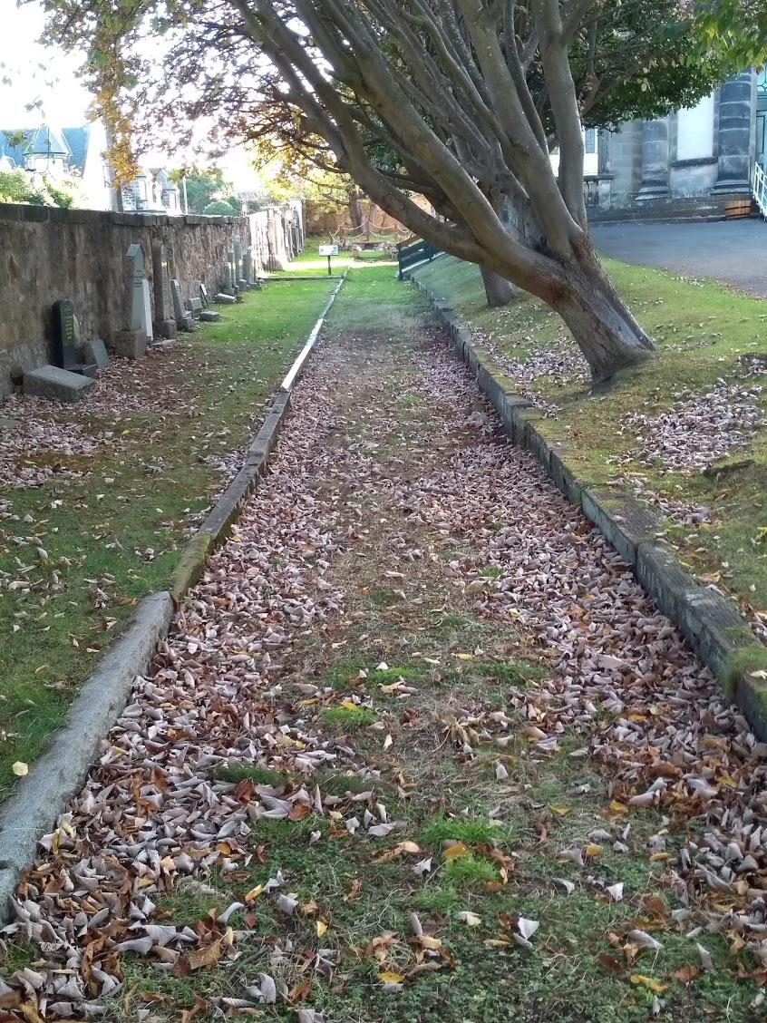 Path, St Marks Portobello