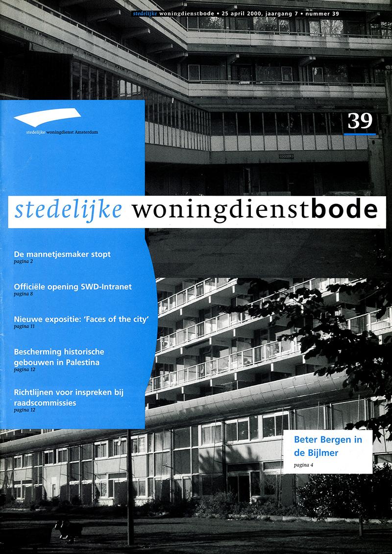 Woningdienstbode    Bijlmer   2000