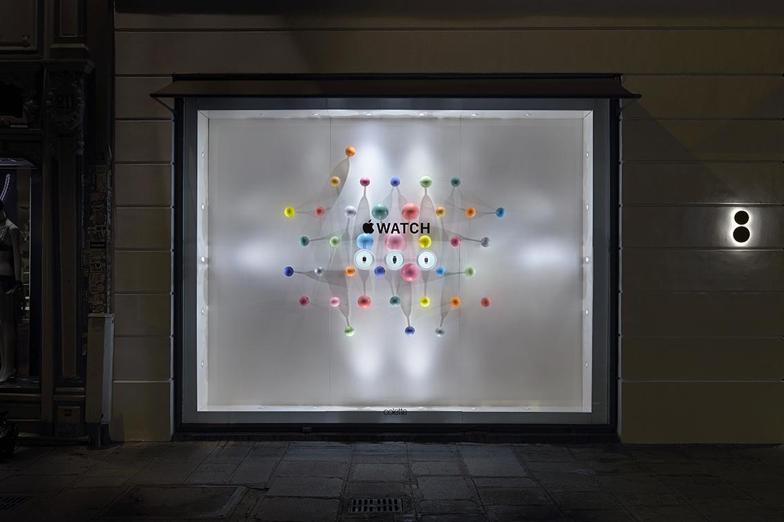 iwatch window night display
