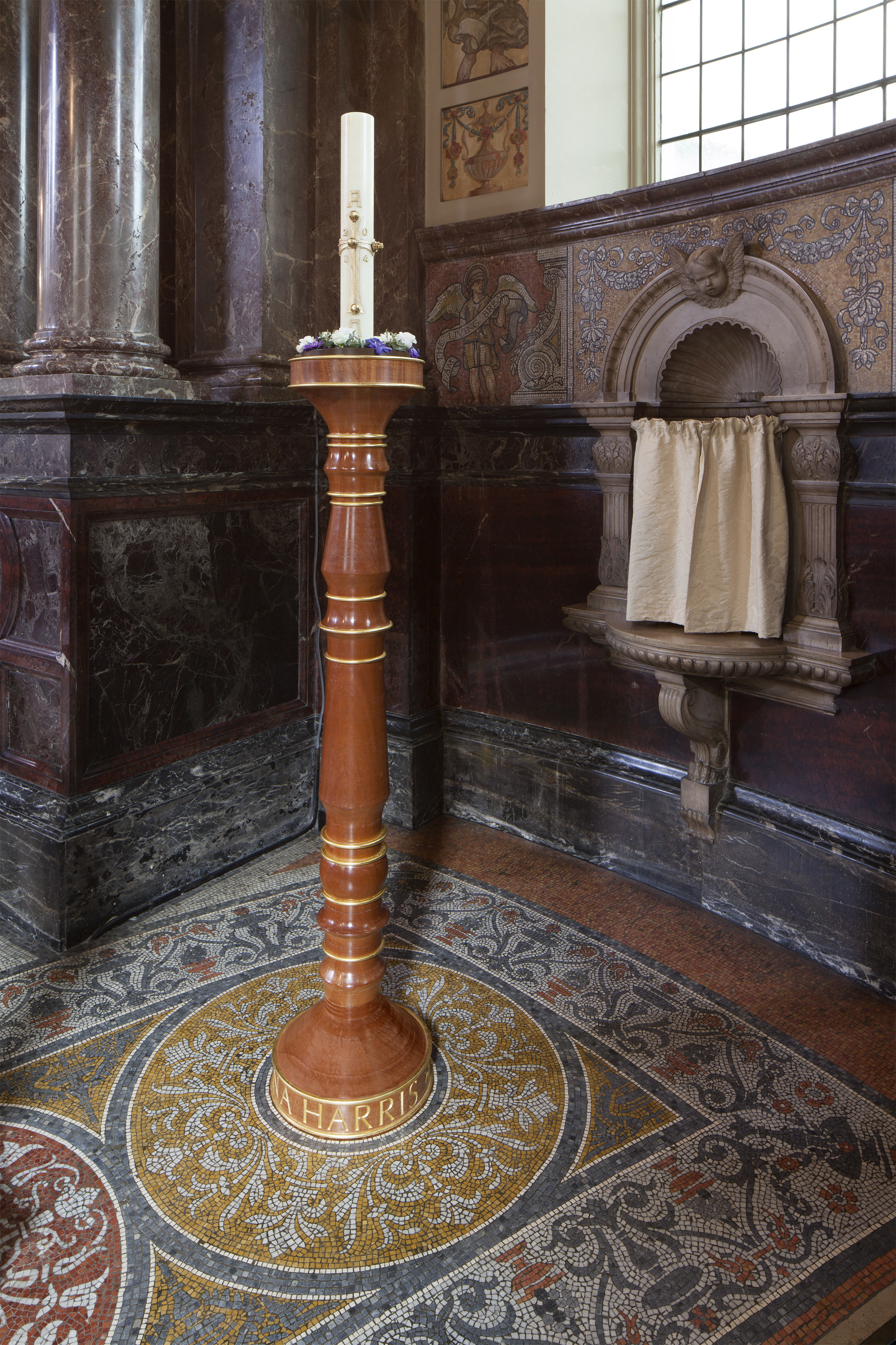 St. Marylebone Parish Church Candlestand