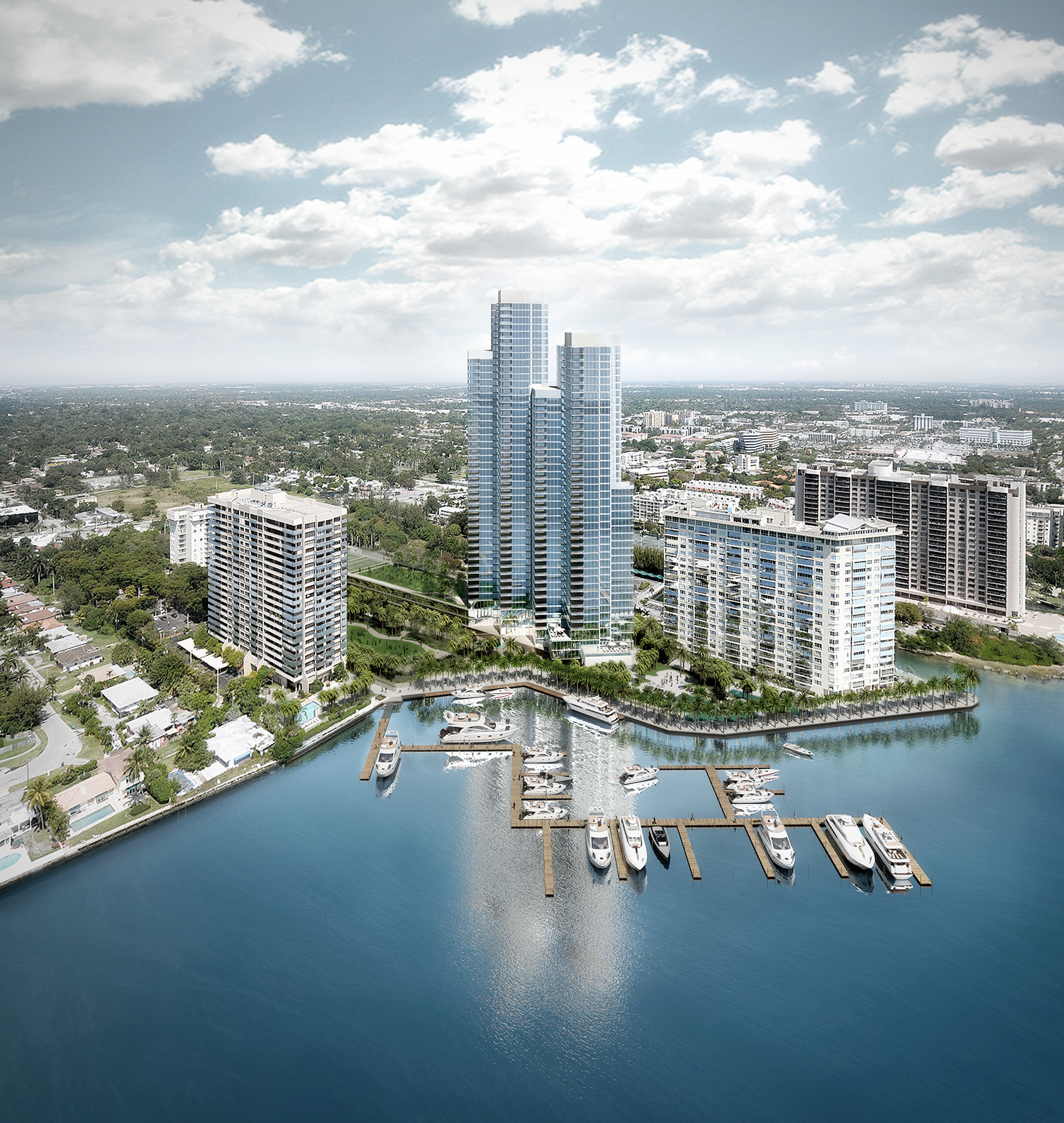 Apeiron Towers | Rafael Moneo | Miami, USA