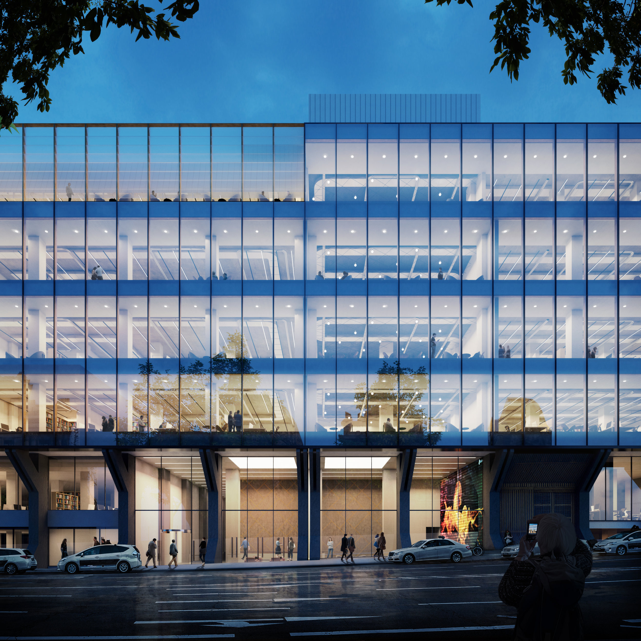 Restoration of Telefónica's previous headquarters |  b720  | Madrid, Spain