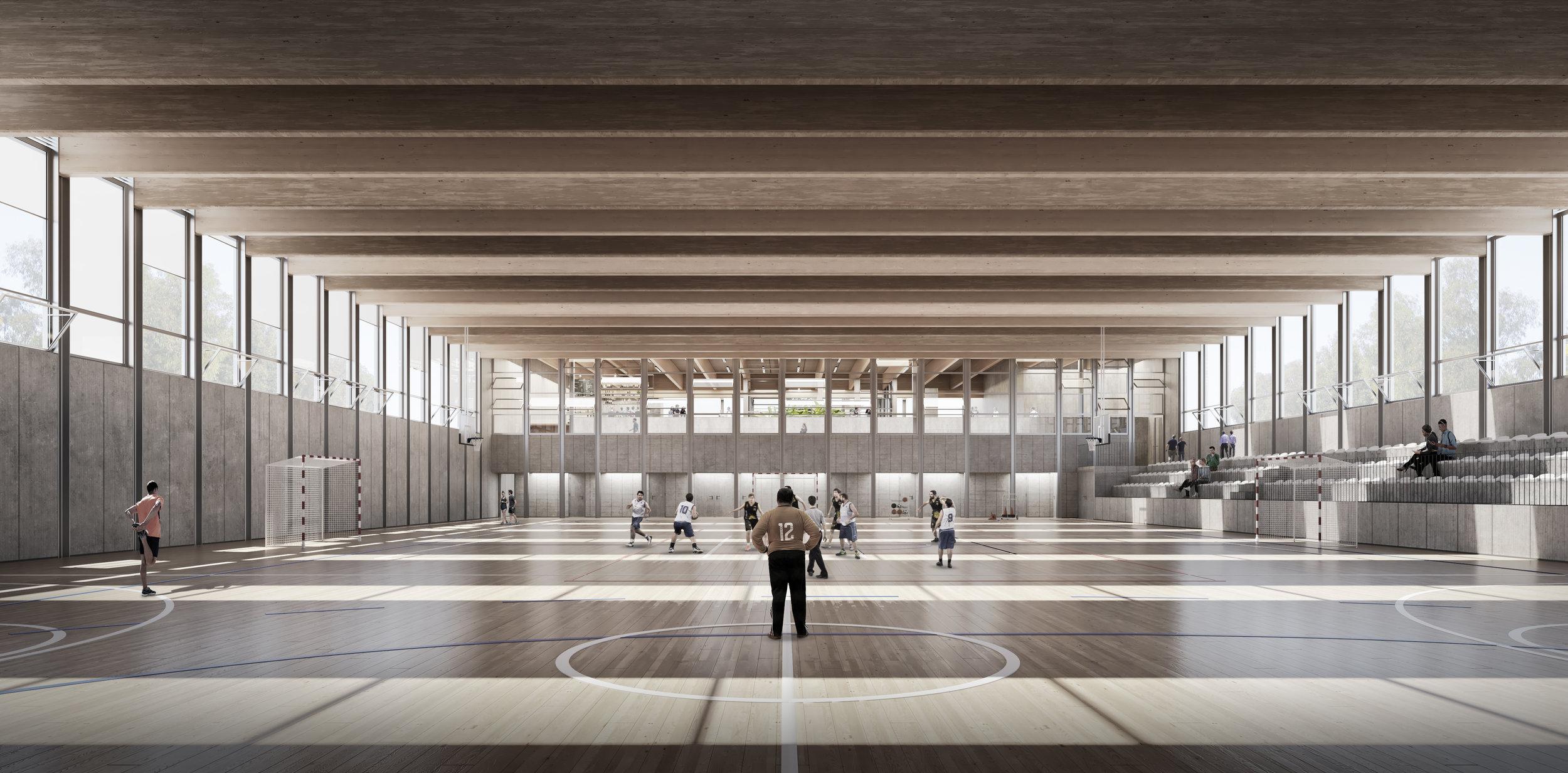 Polideportivo Espronceda |  Bosch.Capdeferro  Arquitectura | Barcelona, Spain