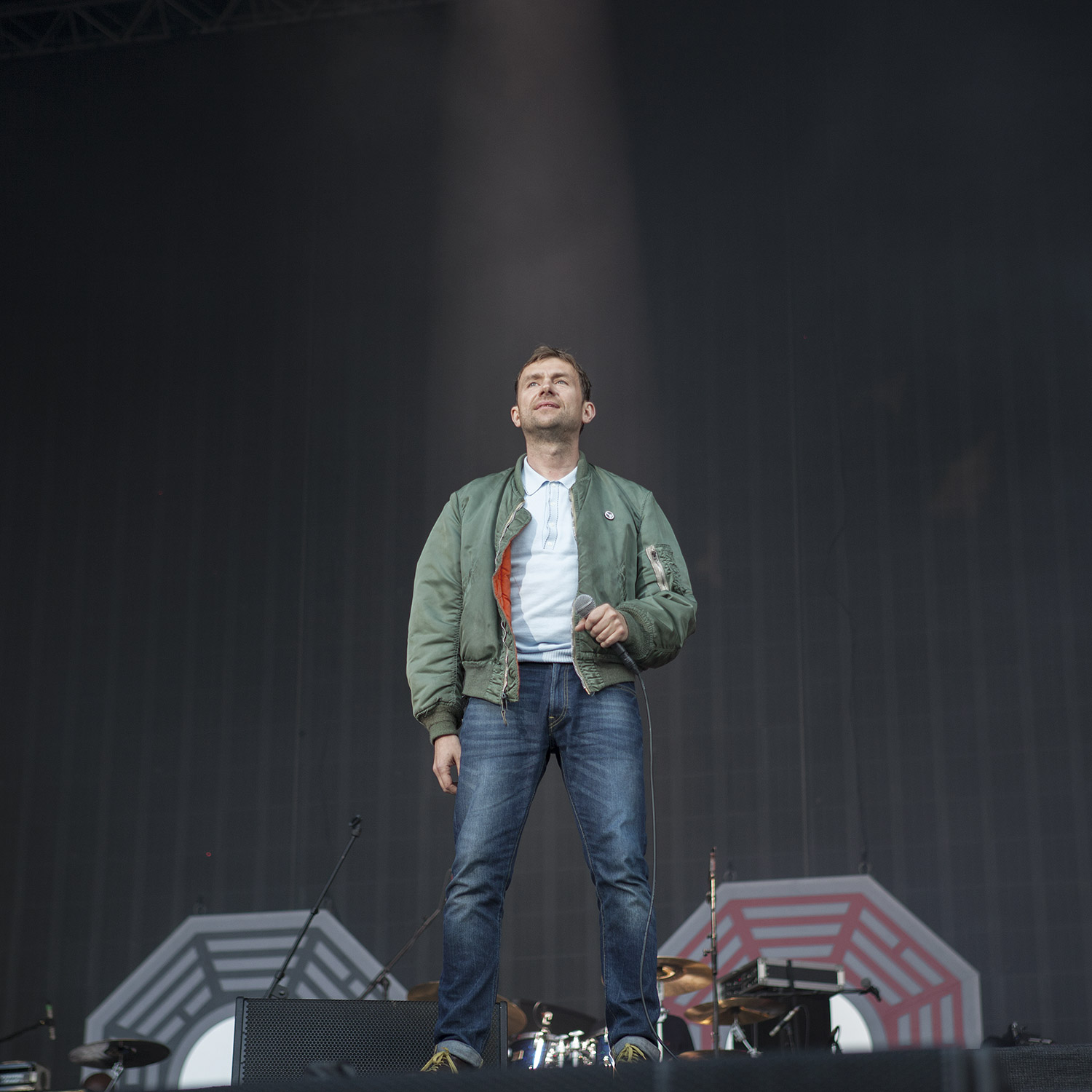 Blur, Hyde Park, London, 2015