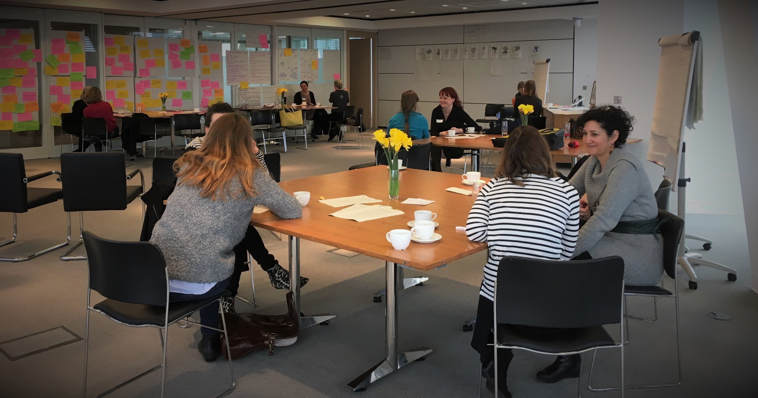 Co-coaching at She is Still Sustainable