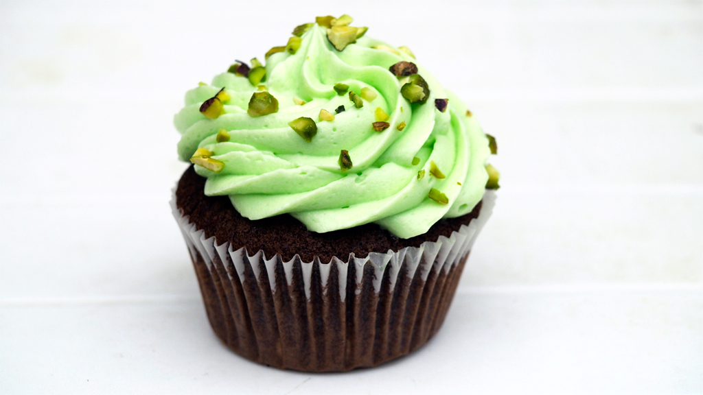 Pistacchio cupcake,  Marjolein Knuit