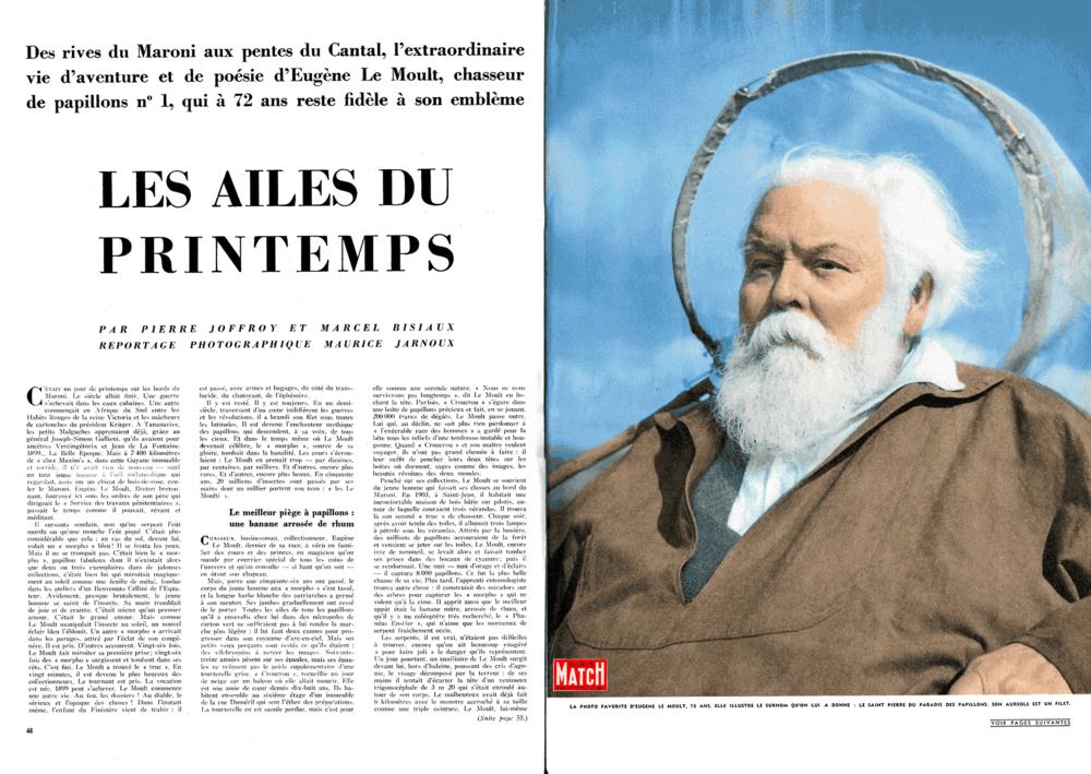 PARIS MATCH №°314 du 02/04/1955
