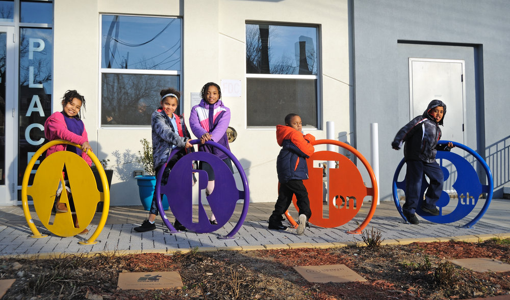 Arts Park Bike Rack