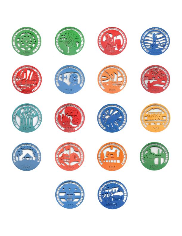 River Terrace Medallion Poster