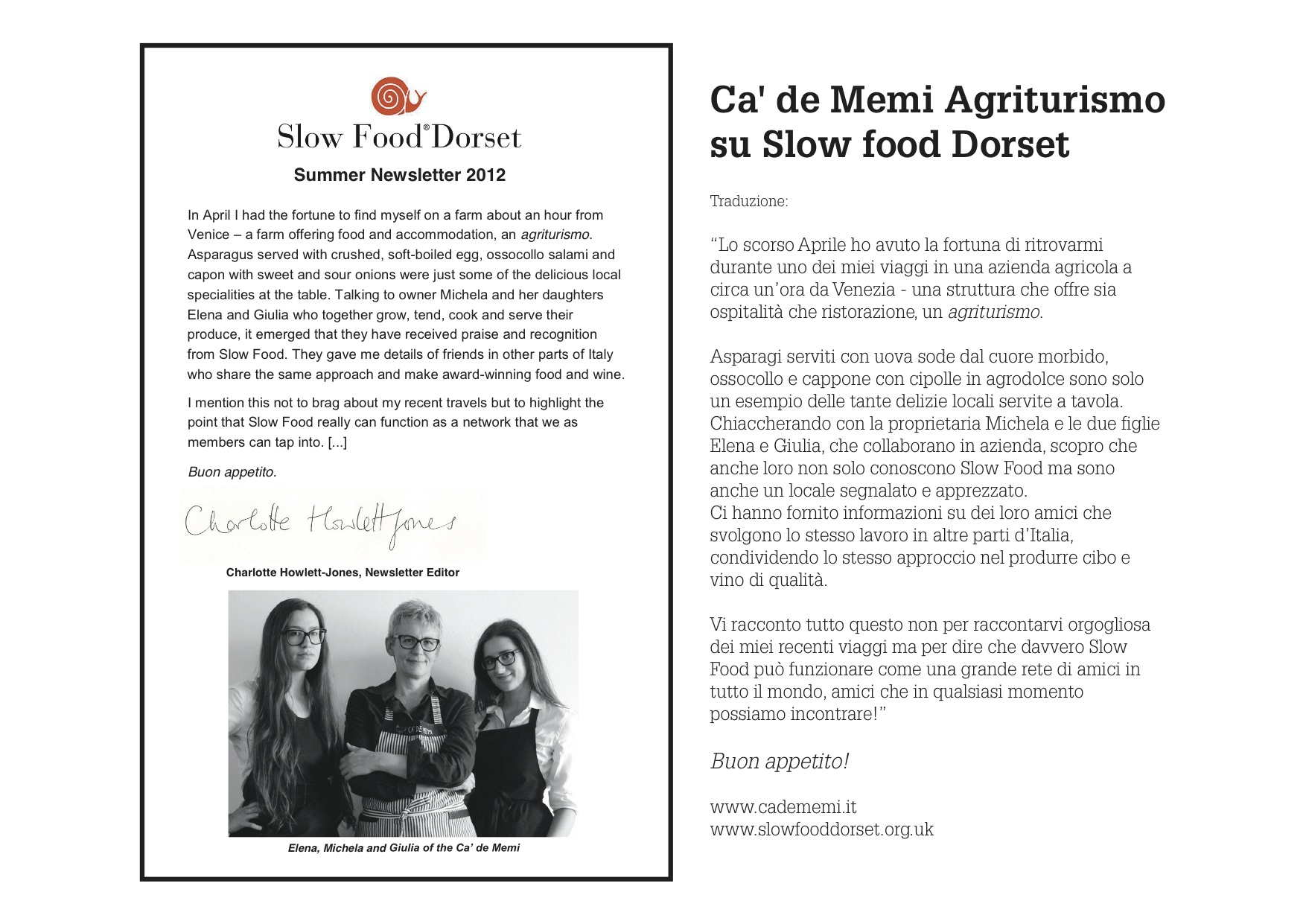 newsletter_dorset_slow_food_cadememi