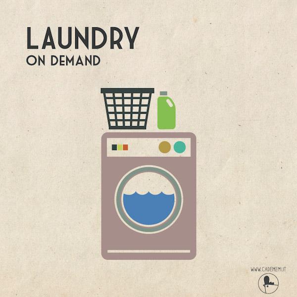 Laundry time at Ca' de Memi