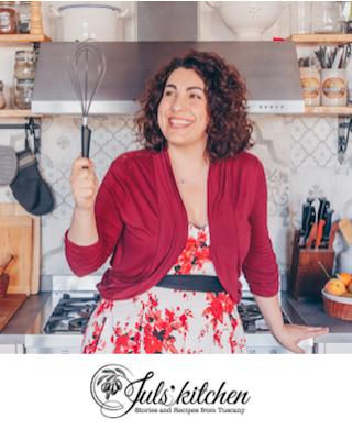 GIULIA SCARPALEGGIA Mette a disposizione tutta le sua esperienza di blogger (da 7 anni con Juls' Kitchen) e di autrice di quattro libri di cucina. Visita il suo blog > julskitchen.com