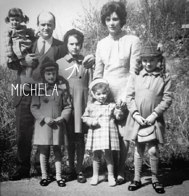 La famiglia Tasca alla fine degli anni 60.