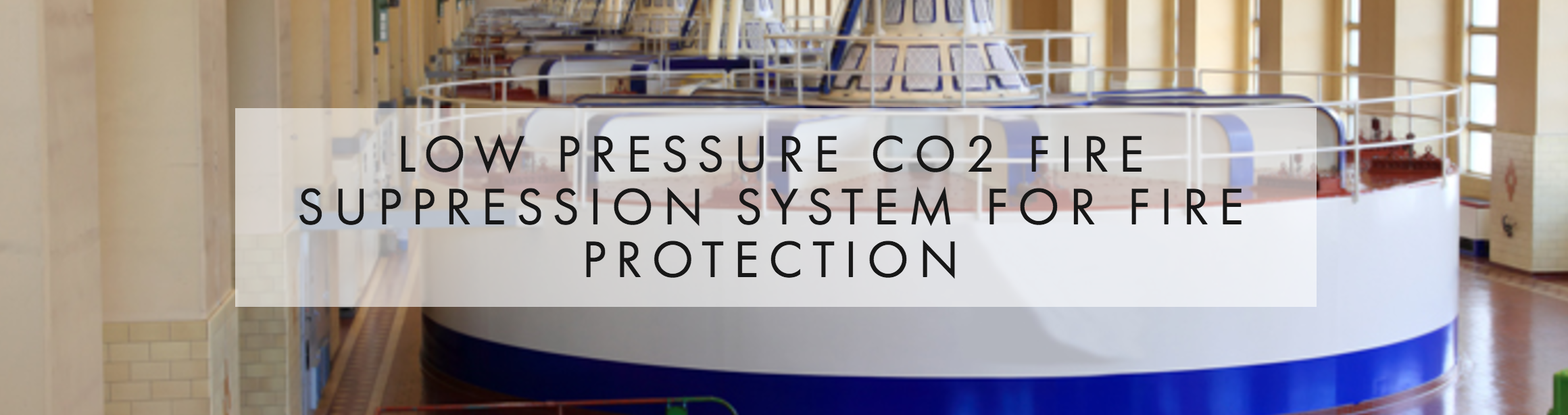 LOW PRESSURE CO2