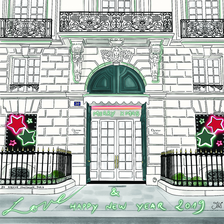 Maison Christian Dior, 30 Avenue Montaigne