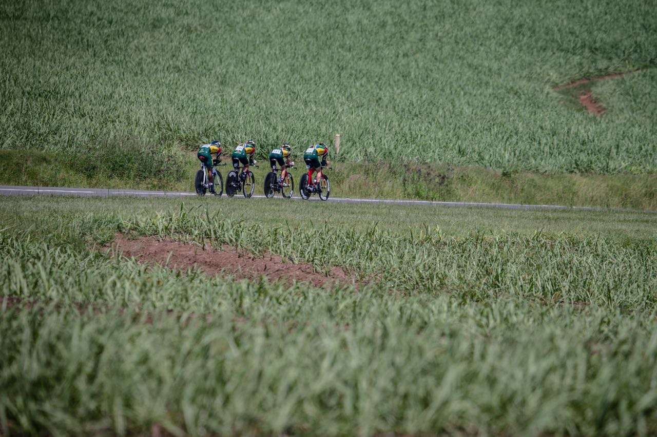 It was a disappointing Team Time Trial for the South African Elite men who could only manage a second place finish behind an inspired Eritrean team on Day one of the 2015 Confederation of African Cycling African Road Championships on Monday © craigdutton.com
