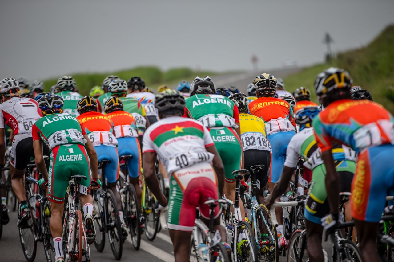 Photo: Cycling SA President William Newman said that with a record of 30 nations entered, the African Continental Road Championships 2015 was by far the bestattended yet.     ©    craigdutton.com