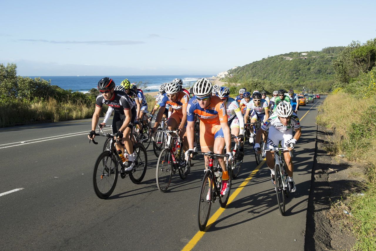 The aQuellé Tour Durban presented by Sunday Tribune will kick start an eight day window in which four top class road races will be held in KwaZulu-Natal.  Anthony Grote/Gameplan Media