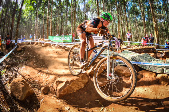 After an injury setback in 2014,Mariske Strauss is back on the bike, and more excited than ever to be competingin theStihl 2015 SA XCO Cup Series at Voortrekker Monument in Gauteng on Saturday 28 March. Photo credit: Darren Goddard