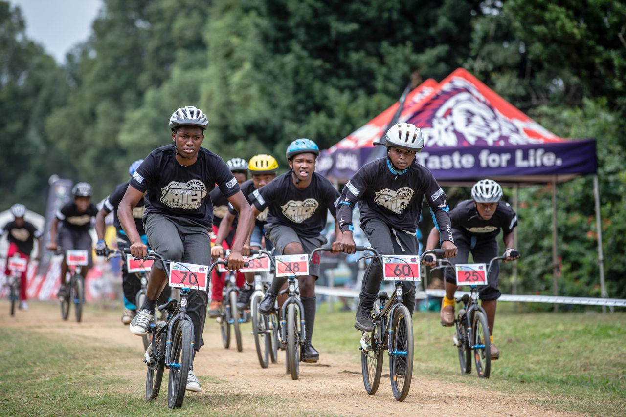 The thriving development programme was showcased in exciting style on the opening day of the Pietermaritzburg MTB Festival at the Cascades MTB Park on Friday.© craigdutton.com