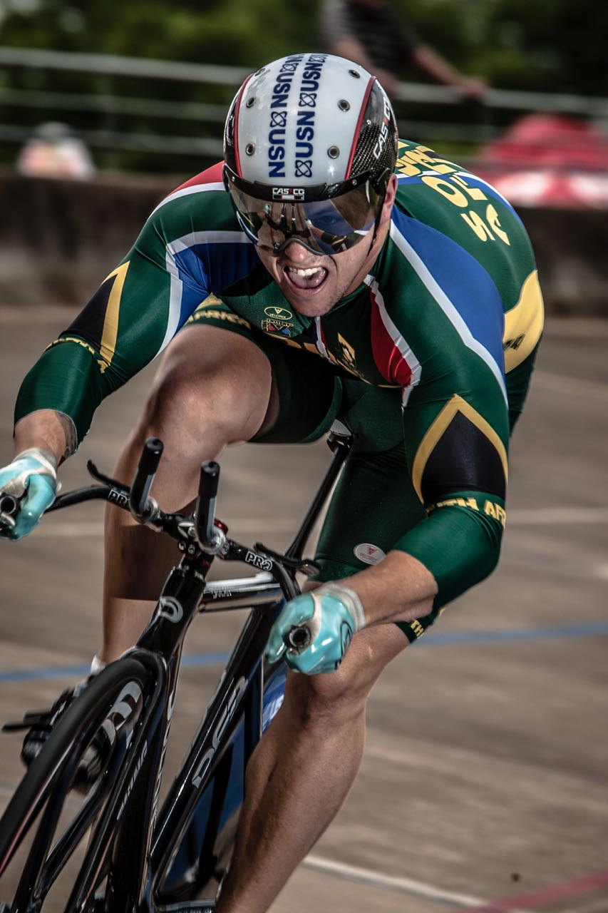Ace sprinter Jean Smith will be making the journey from the Western Cape to Johannesburg for the upcoming national track champs that take place at the Hector Norris Park Cycling Track in Turffontein starting from 7-11 April. Photo credit: craigdutton.com