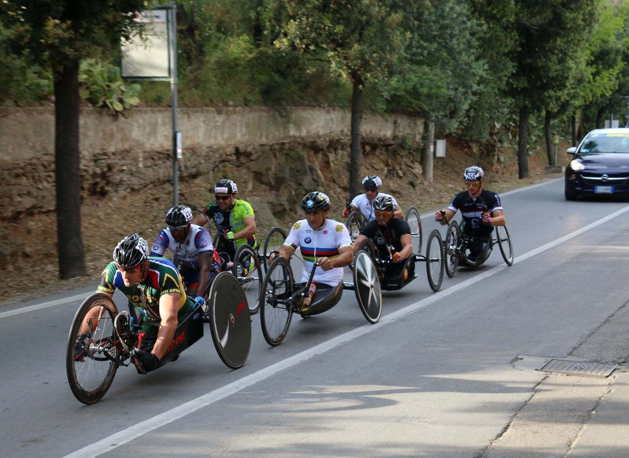 The world's best Para-cyclists will descend upon KwaZulu-Natal in September in a bid to gain maximum UCI points towards the Paralympic qualification for Rio 2016 at the 2015 UCI Para-cycling Road World Cup – Pietermaritzburg from 11-13 September © Illse de Preez