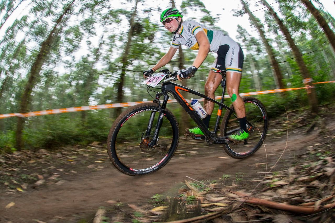It is a race against time for defending women's South African Cross Country champion Mariske Strauss who is trying to overcome an ankle injury before the start of the 2015 Stihl South African Mountain Bike Championships presented by Subaru Cape Town/Novus Holdings on Saturday 18 July. Andrew Mc Fadden/Gameplan Media
