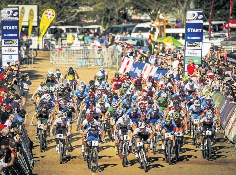 The start of the UCI MTB World Cup 2014 at Cascades. Pietermaritzburg is Africa's Bike City, one of only three Bike Cities in the world, recognised by the UCI. Pietermaritzburg should be leveraging its cycling successes to a far greater degree, and excellent opportunities to do so will present themselves at the UCI African Cycling Forum to be hosted by the city from July 30 to August 6.