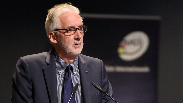 UCI President Brian Cookson will be in Pietermaritzburg, KwaZulu-Natal for the 2015 CAC Forum, which takes from 3-6 August. Photo: uci.ch
