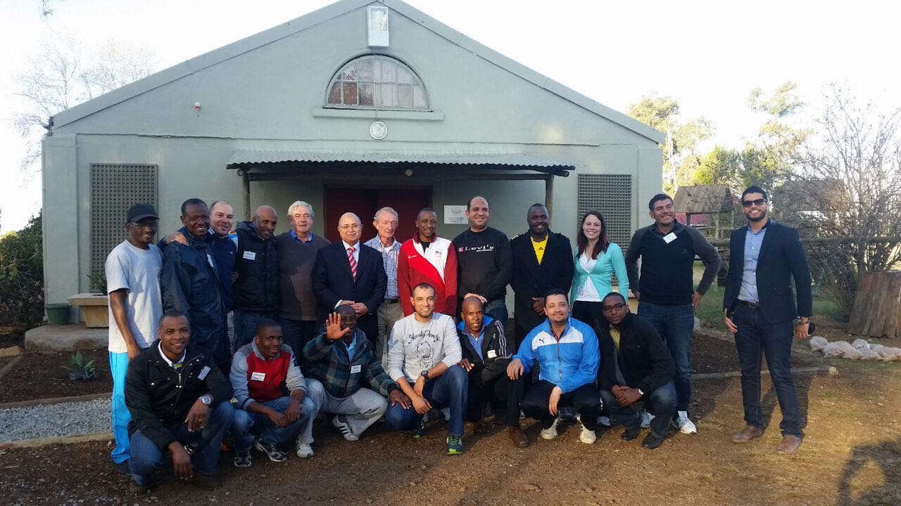 Participants of the UCI Commissaires course, which took place during the 2015 CAC Forum in Pietermaritzburg. Photo: Supplied