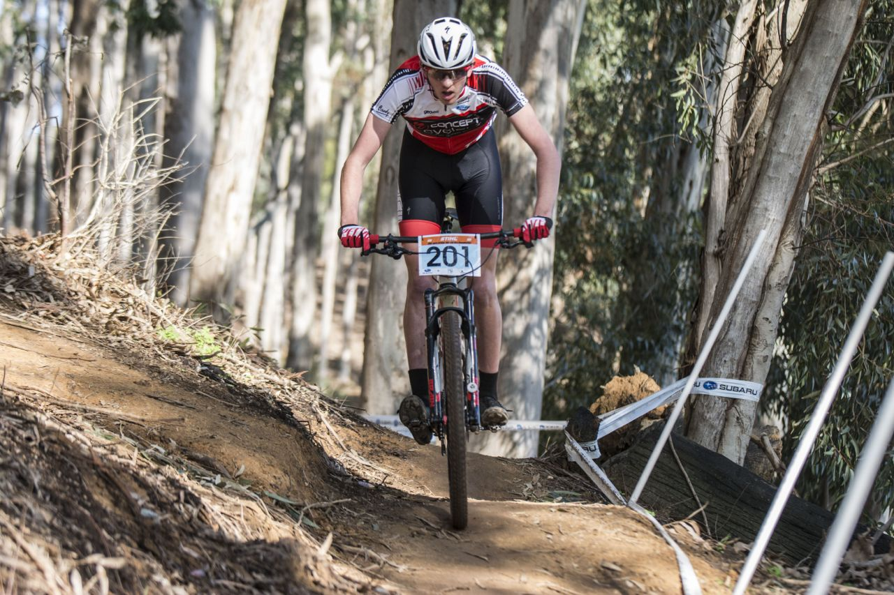 The International Cycling Union (UCI) has announced the competition dates for the 2016 UCI XCO Junior World Series. Photo: Andrew McFadden