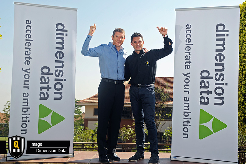 South Africa's first Pro-Continental cycling team has just received confirmation that they will be racing the 2016 season with a World Tour licence. Photo credit: Team Dimension Data