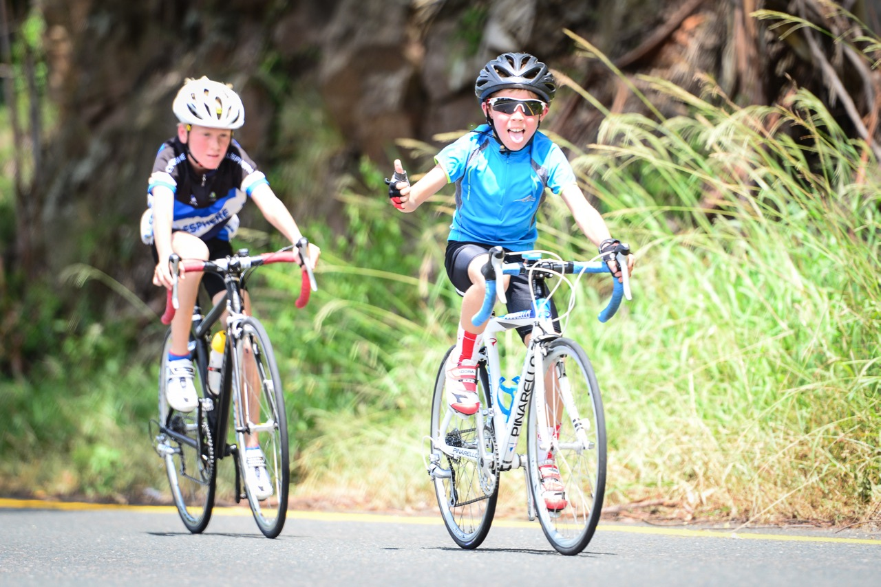 Having fun on your bike is the main idea, and riders from as young eight-years-old enjoyed the morning out on the road at the 2016 SA National Road, Time Trial and Para-cycling Championships in Westville, KwaZulu-Natal,on Saturday 13 February.Photo credit: Darren Goddard