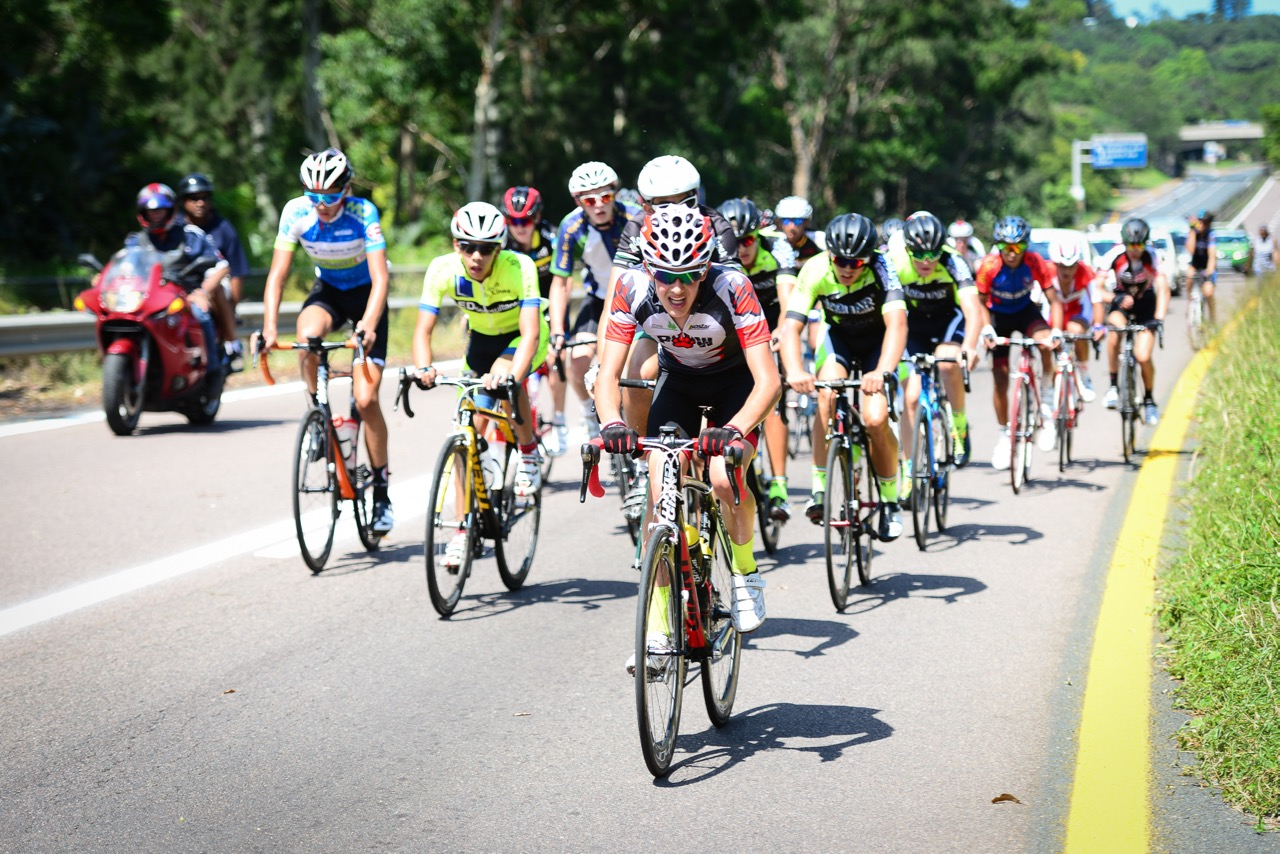 The U16 Boys race displayed an immense amount of young cycling talent at the 2016 SA National Road, Time Trial and Para-cycling Championships in Westville, KwaZulu-Natal,on Saturday 13 February.Photo credit: Darren Goddard