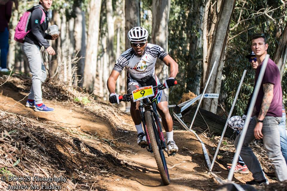 Sipho Madolo from the Songo.info programme will use the experience he gained from the world's most gruelling eight-day mountain bike stage race when he tackles the third round of the Ashburton Investments National MTB Series – which plays host to the 2016 South African Mountain Bike Marathon Championships in Clarens – from 16-17 April.. Photo credit: Andrew McFadden